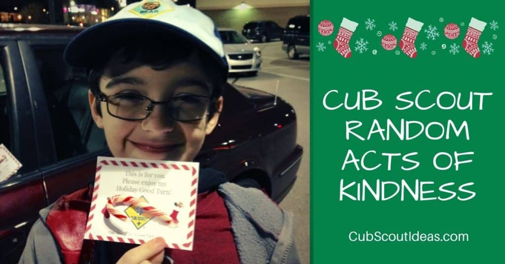 cub scout random acts of kindness