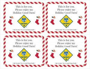 holiday good turn for you with logo1