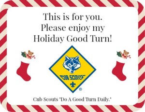 holiday good turn image