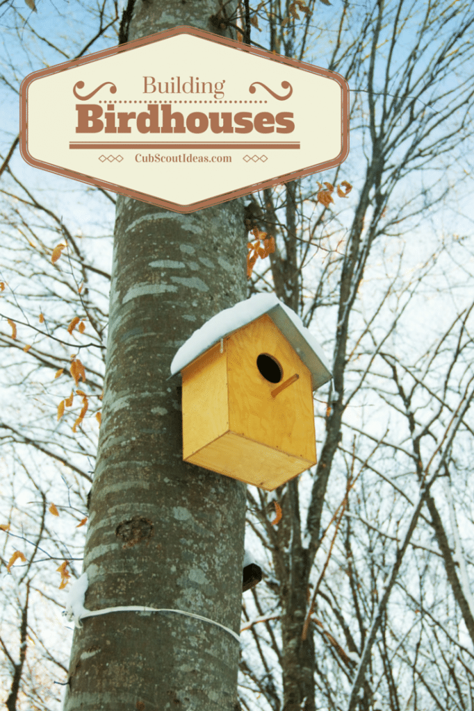 cub scout bird houses