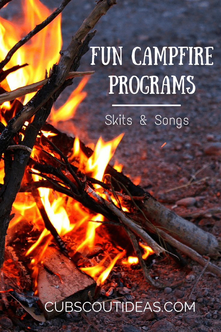 6 Silly and Simple Cub Scout Skits for Campfires