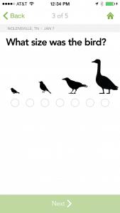 merlin bird id app screen shoot