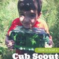 cub scout geocaching event