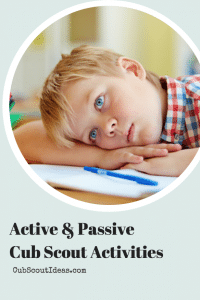 Active and Passive Activities