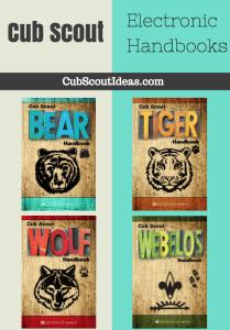 New Cub Scout Handbooks