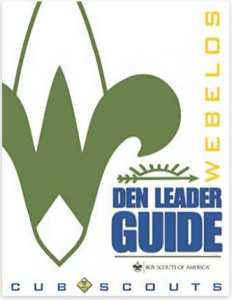 Electronic Webelos Den Leader Guide
