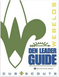 Electronic Webelos Den Leader Guide