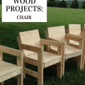 cub scout wood chairs
