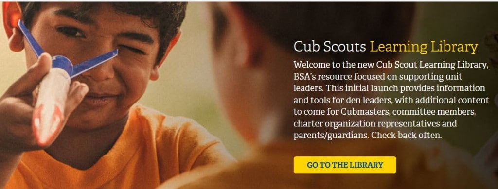Cub Scout Den Meeting Plans