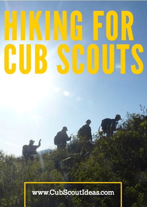 Cub Scout Hiking