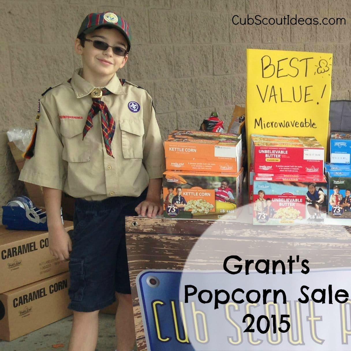 Selling Cub Scout Popcorn With Video