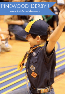 Cub Scout Pinewood Derby