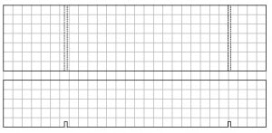 Pinewood Derby car grid template