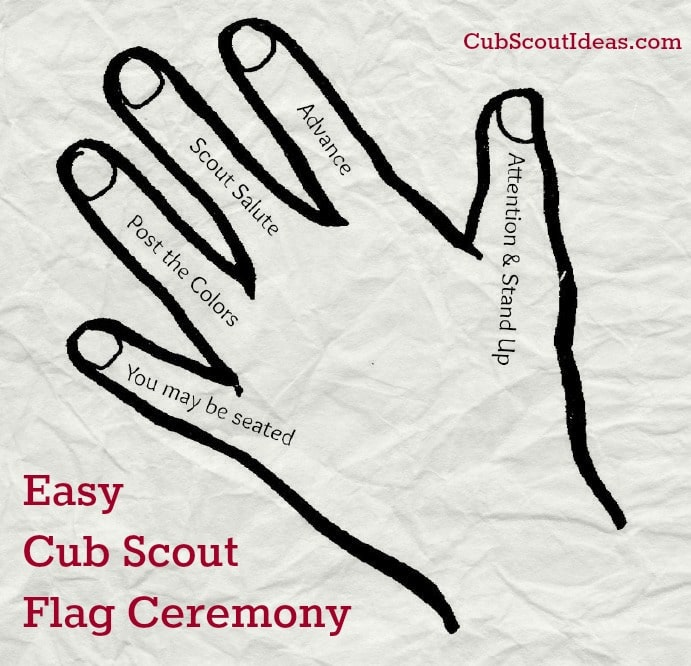 Easy Cub Scout Flag Ceremony Cub Scout Ideas