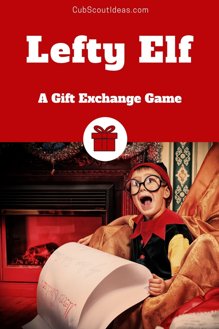 Lefty Elf is a funny Christmas gift exchange game for kids that's great for any gathering! It's a