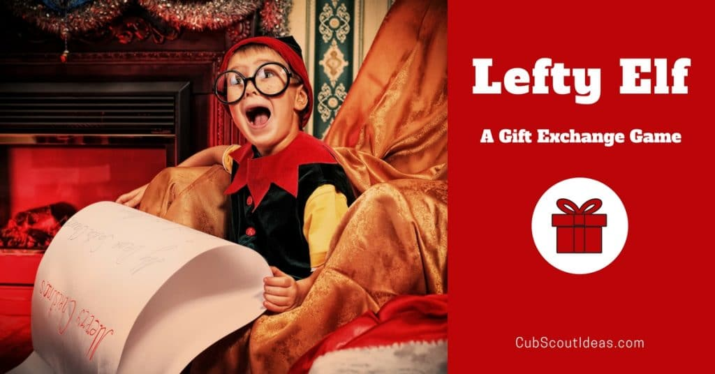 Lefty elf the best christmas gift exchange game cub scout ideas christmas gift exchange game negle Choice Image