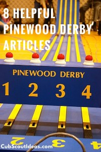 8 pinewood derby articles