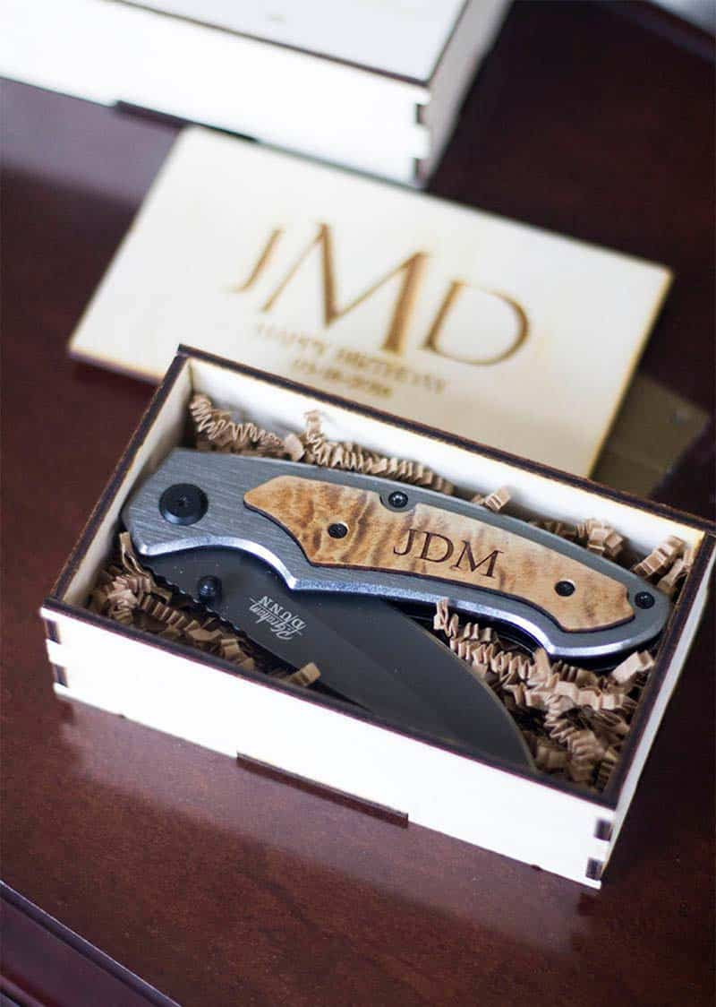 engraved pocketknife