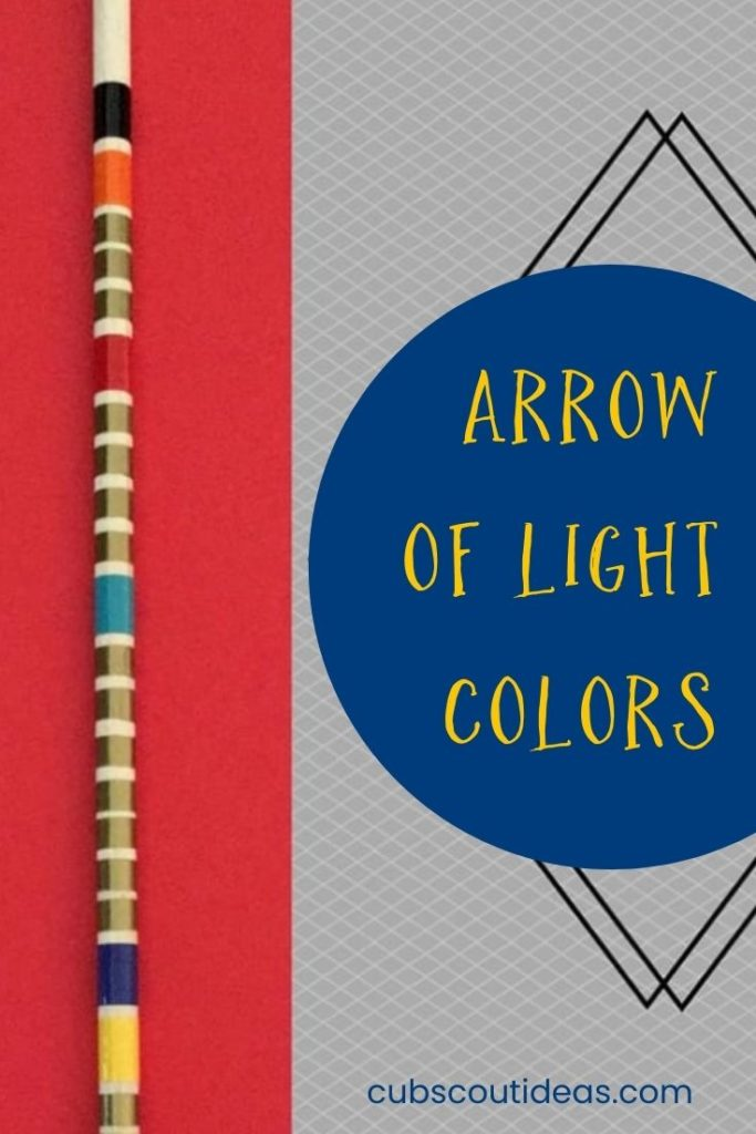 Arrow of Light Colors