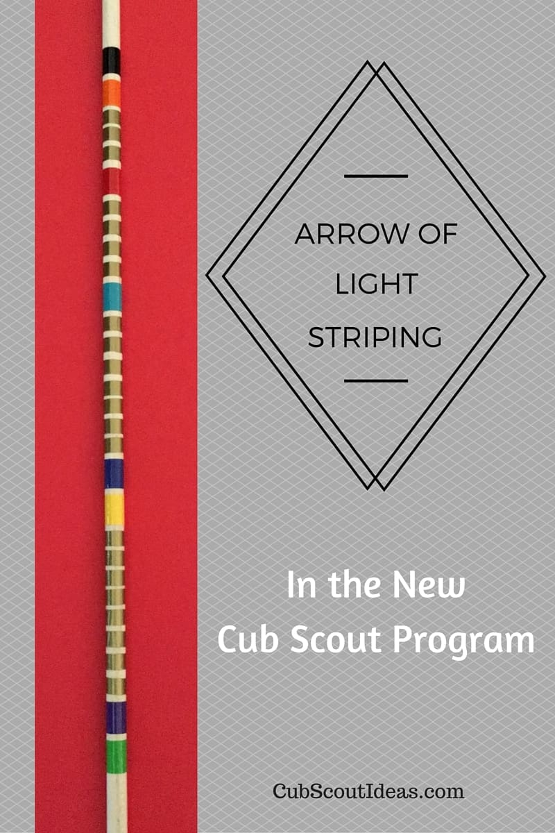 arrow of light arrow striping