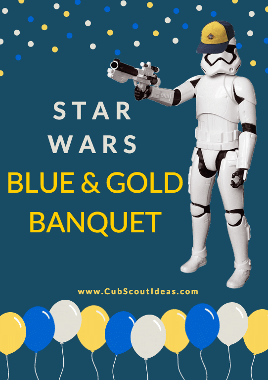 star wars blue and gold banquet
