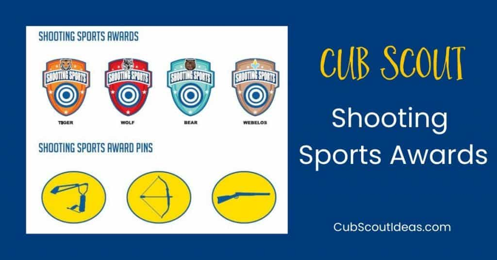 shooting sports awards for cub scouts