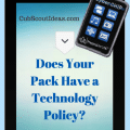 Cub Scout Pack Technology Policy