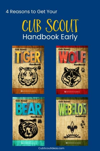 Buy Cub Scout Handbook Early