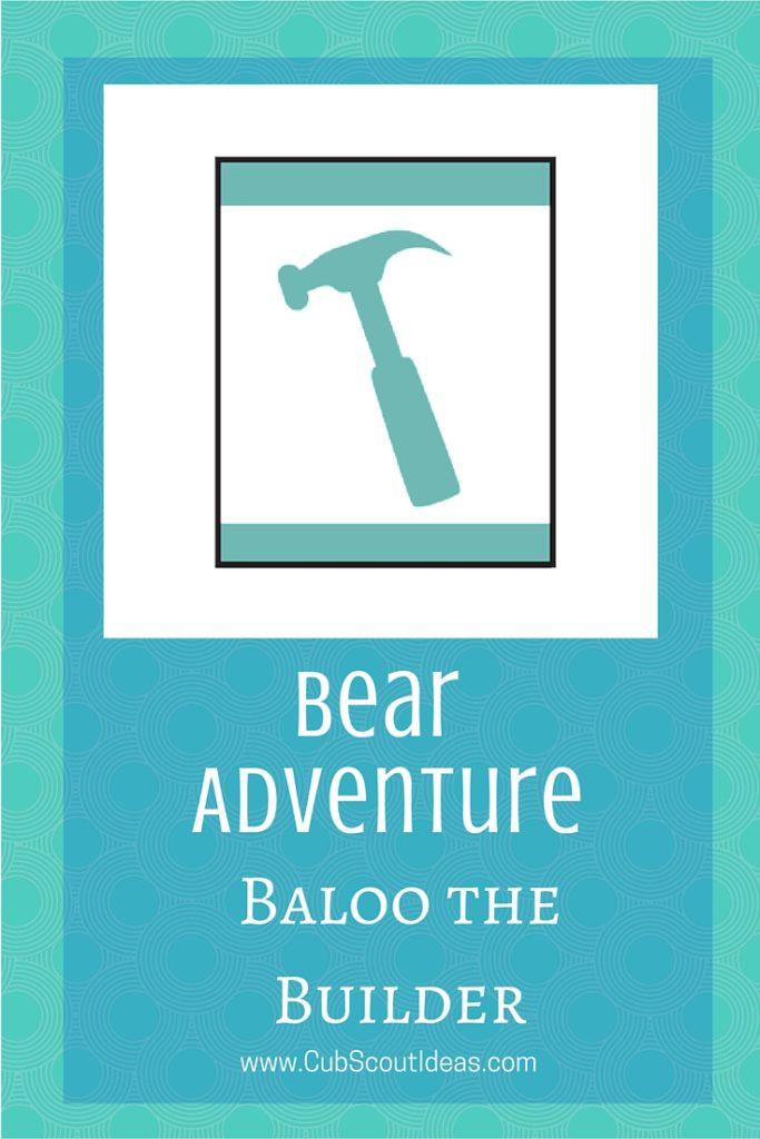 Bear Baloo The Builder