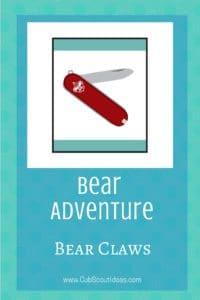Bear Bear Claws