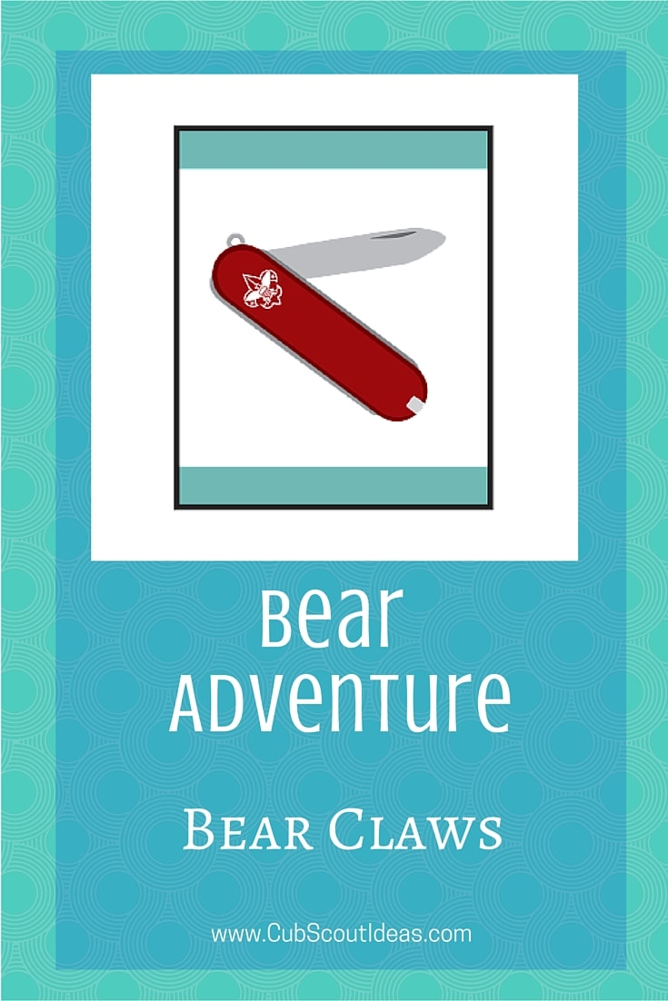 Bear Cub Scouts Bear Claws Adventure
