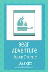 Bear Bear Picnic Basket