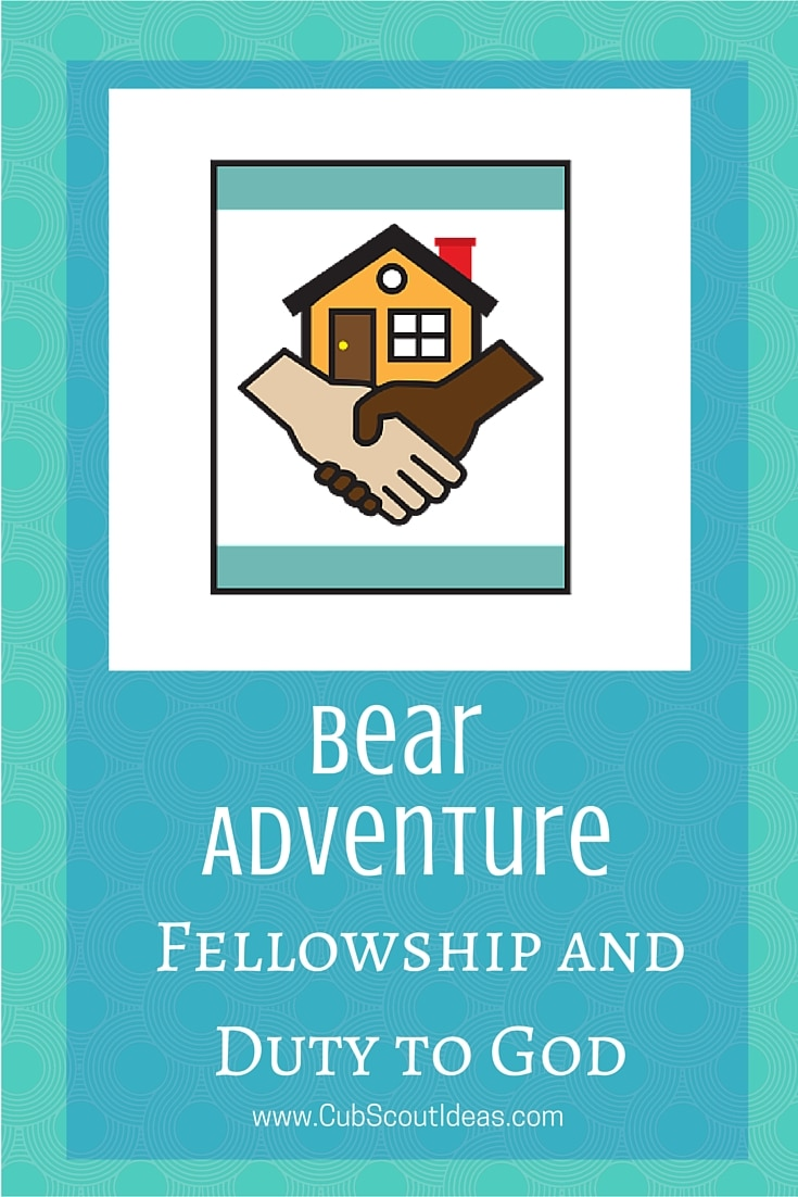 Bear Cub Scout Fellowship and Duty to God