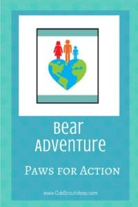 Bear Paws for Action