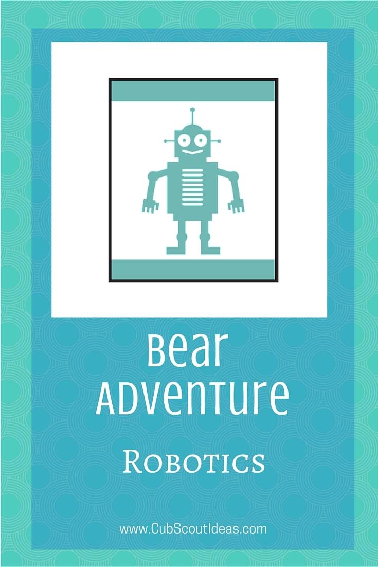 Bear Cub Scout Robotics