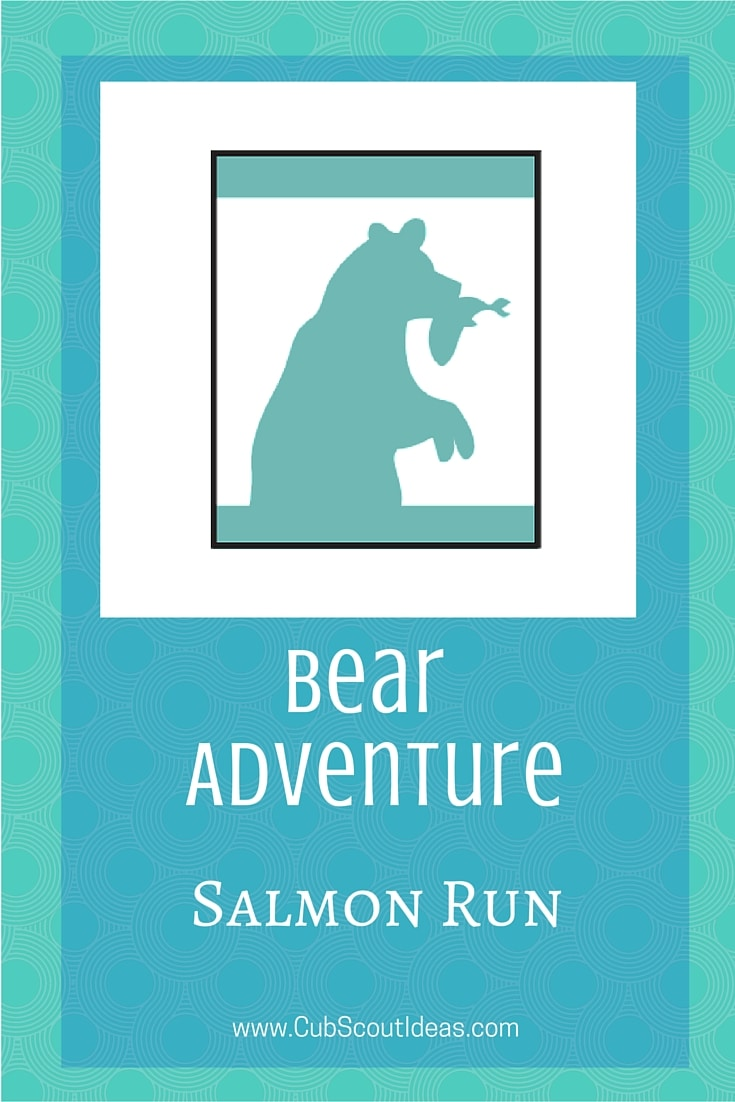 Bear Cub Scout Salmon Run