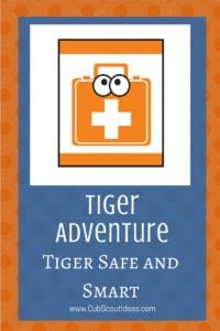 Tiger Adventures Tiger Smart and Safe