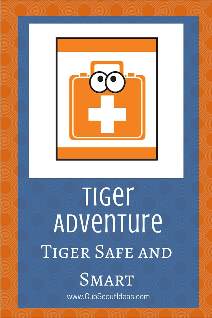 Cub Scout Tigers Tiger Safe and Smart