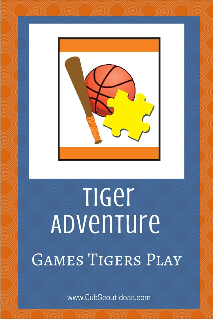 Cub Scout Tiger Games Tigers Play