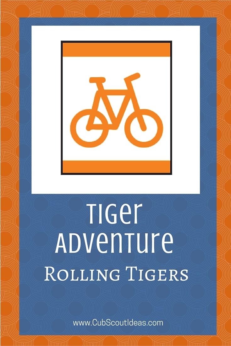 Cub Scout Tiger Rolling Tigers