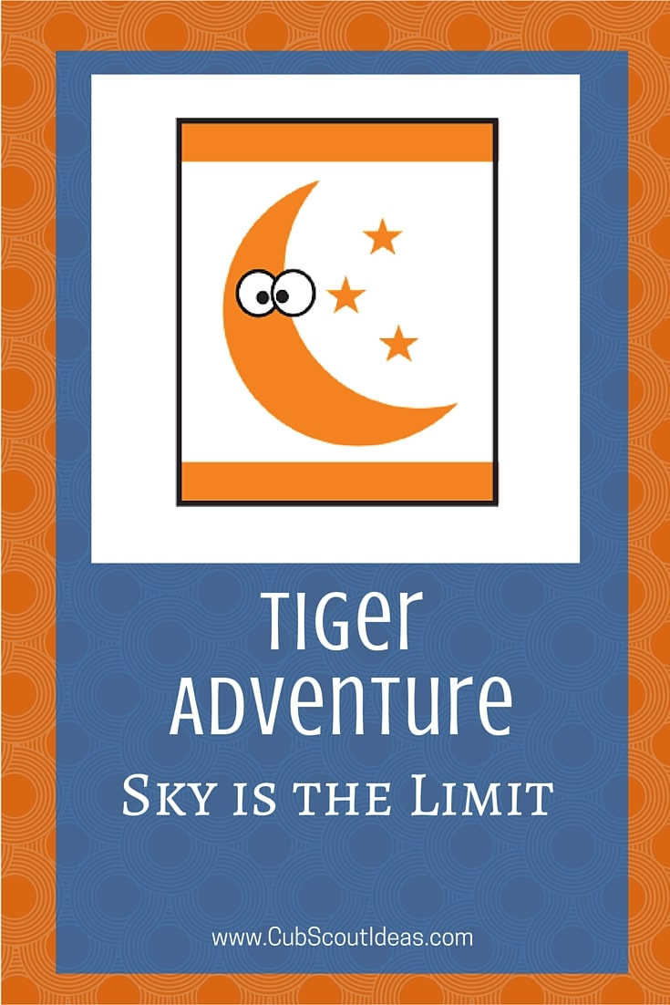 Cub Scout Tiger Sky is the Limit