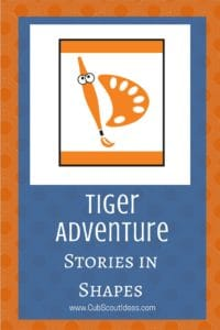 Tiger Stories in Shapes