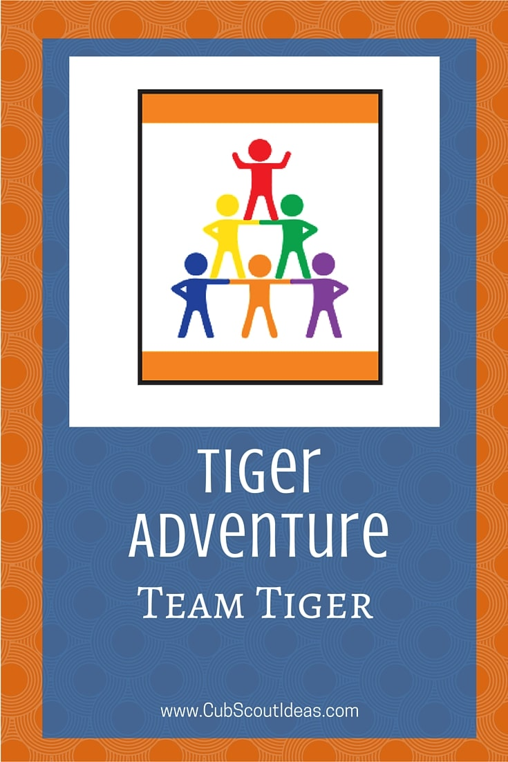 Cub Scout Tiger Team Tiger