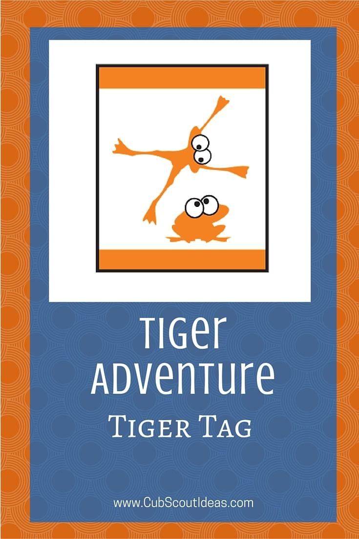 Cub Scout Tigers Tiger Tag