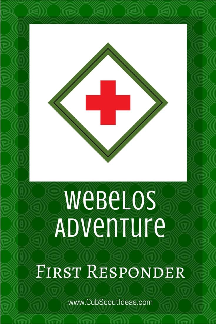 Webelos First Responder