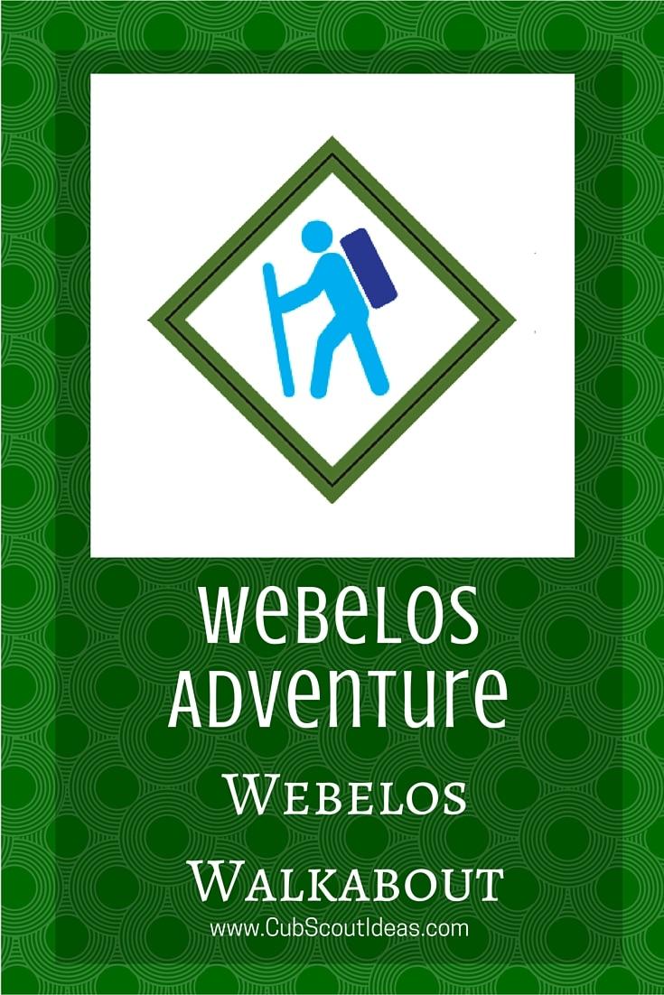 Webelos Webelos Walkabout