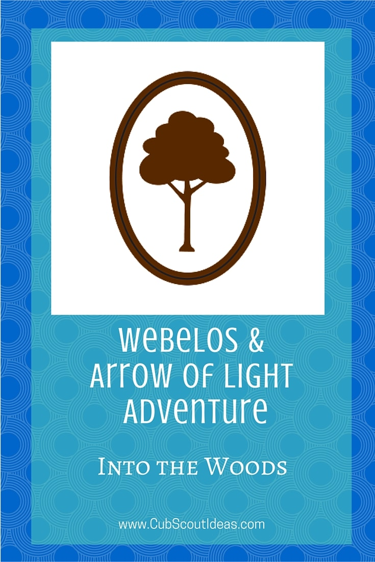 Webelos Arrow of Light Into the Woods