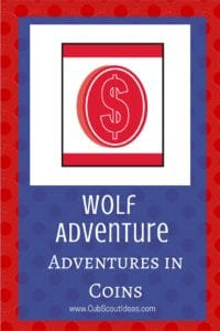 Wolf Adventures in Coins