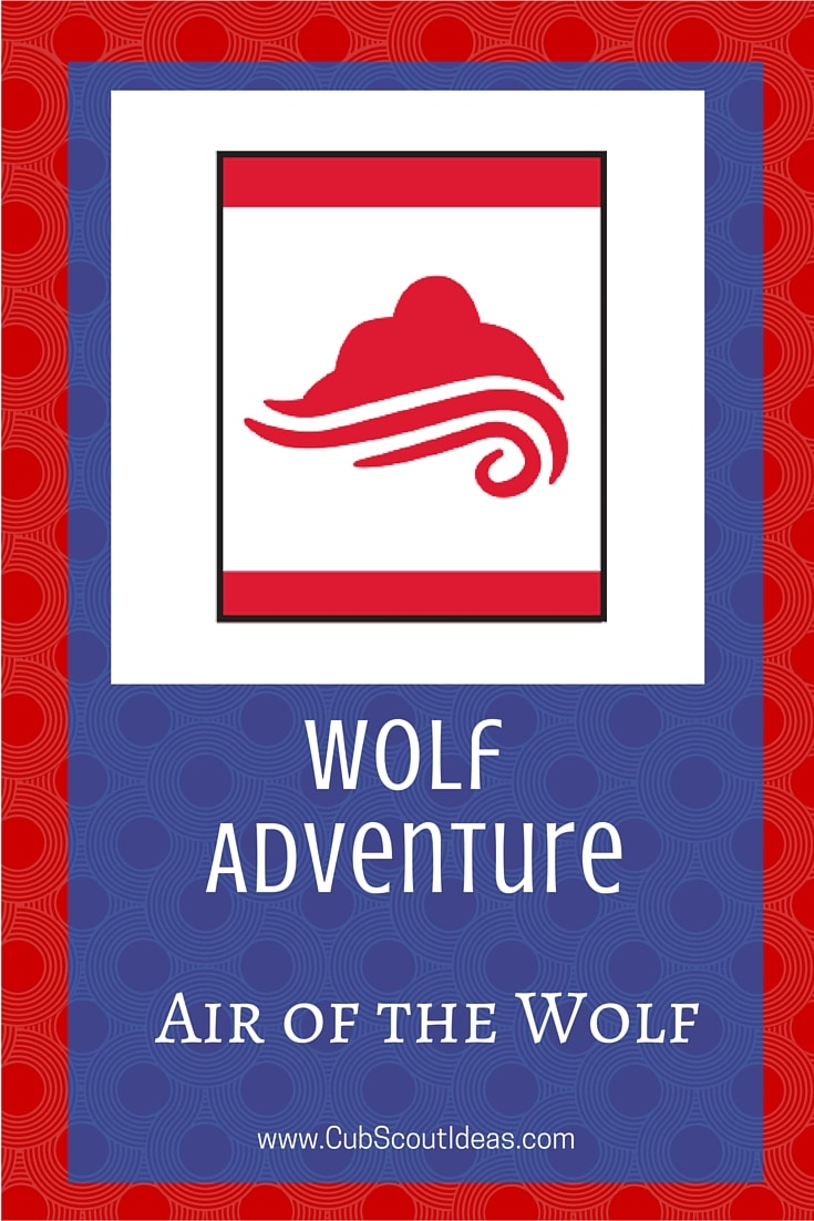 Cub Scout Wolf Air of the Wolf