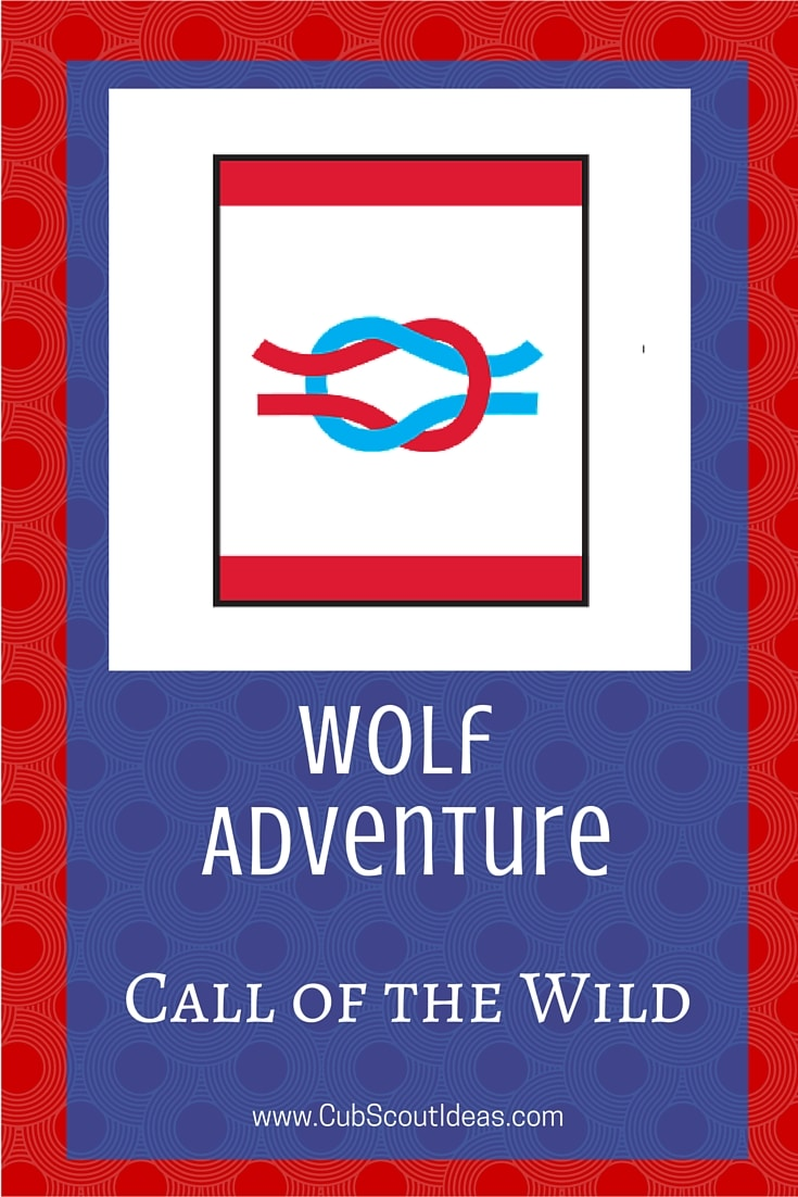 Cub Scout Wolf Call of the Wild